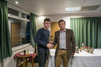 Alex Higham U17 Batting Award